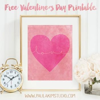 FREE Printable - Valentine's Day