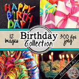 Birthday Digital Paper