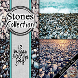 Stones/ Beach Digital Paper