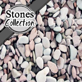 Stones/ Beach Digital Paper