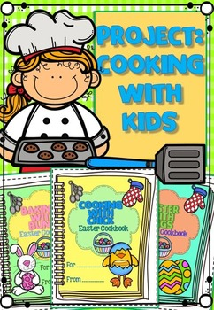 FREE Project: Cooking with kids minibooks NO PREP