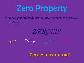FREE  Properties of Multiplication PowerPoint