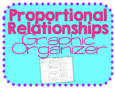 FREE Proportional Relationships Notes/ Graphic Organizer