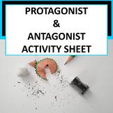 *Free* Protagonist & Antagonist Activity Sheet