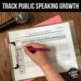 Public Speaking: FREE Growth Tracking Charts