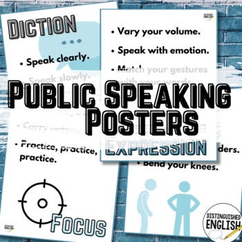 FREE Public Speaking Posters