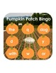 FREE Pumpkin Bingo for sight words and upper and lower cas