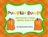 FREE! Pumpkin Bump: Math Center, Game, and Printable