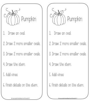 FREE Pumpkin Directed Drawing