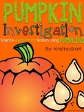 FREE Pumpkin Investigation  {Science}