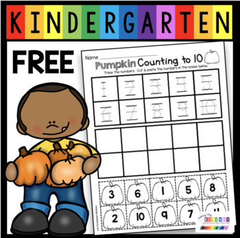 photograph about Free Pumpkin Worksheets Printable named Cost-free Pumpkin Figures Worksheet - Slide Printables for Kindergarten Math - Pre-K