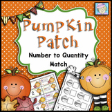 Numbers 1-10 Cut and Paste FREE for Fall