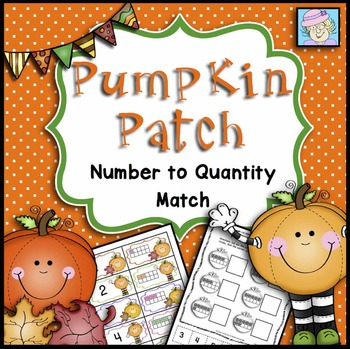 Fall Math Centers Kindergarten Numbers 1-10 FREE