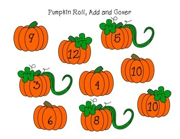 FREE Pumpkin Roll, Add and Cover