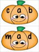 FREE Pumpkin Word Building Activity