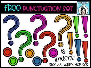 FREE Punctuation Clip Art Set