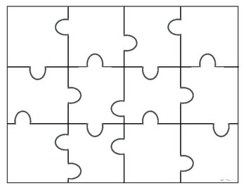FREE Puzzle Template By Boy Mama Teacher