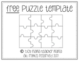FREE Puzzle Template