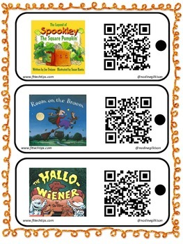 FREE QR Code Halloween Stories