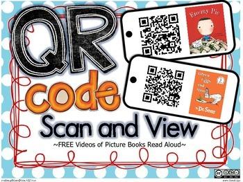 FREE QR Code Read Aloud Stories