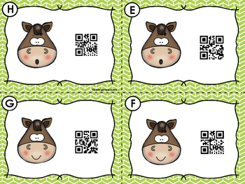 FREE  QR Code Scan, Write, Color Numbers 1-10 Horse