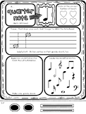 FREE Music Note Practice Page - Quarter Note