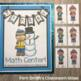 Winter Quick and Easy to Prep Math Center Game for Addition Plus Ten Freebie