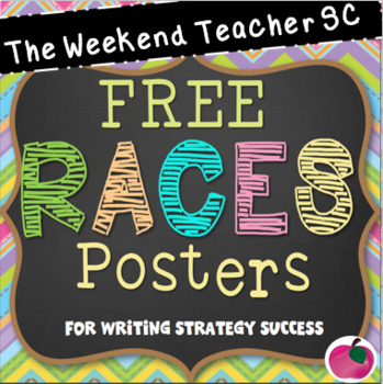 FREE R.A.C.E.S. Strategy Posters
