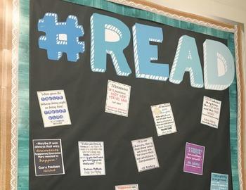 FREE #READ Bulletin Board Letters