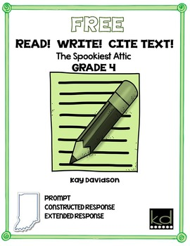 FREE READ!  WRITE!  CITE TEXT!  The Spookiest Attic GR 4