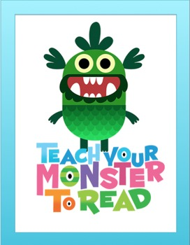 FREE READING PROGRAM: Teach Your Monster to Read