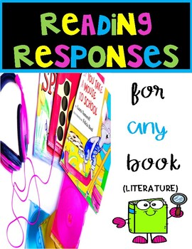 READING RESPONSES FOR INTERACTIVE NOTEBOOKS FREE