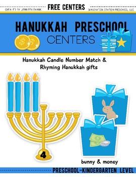 FREE RESOURCE: HANUKKAH PRESCHOOL CENTERS