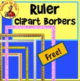 FREE RULER BORDERS Page Border Clipart Measurement