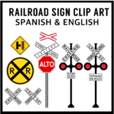 FREE Railroad Sign (Spanish and English)