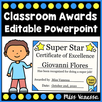Award Certificates & Tickets ~ Promote Positive Behavior I