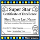 Award Certificates & Tickets ~ Promote Positive Behavior I