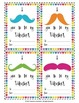 FREE Rainbow Moustache Valentine's Day Cards