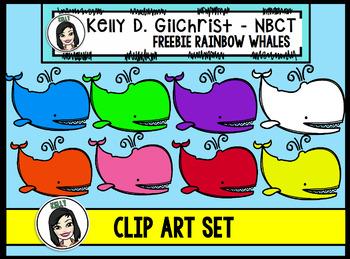 FREE Rainbow Whales
