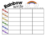 FREE Rainbow Write