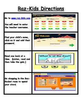 FREE Raz- Kids Family Program Letters