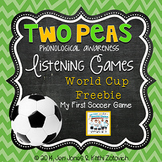 FREE Read-Aloud Based Phonological Awareness Lesson {World Cup}