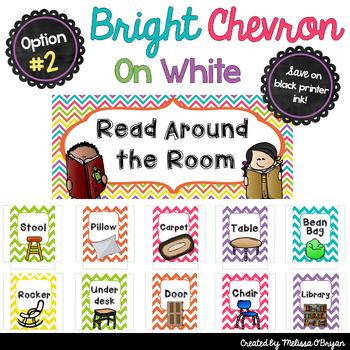 FREE Read Around the Room Bulletin Board Display