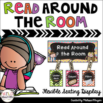 FREE Read Around the Room Bulletin Board Display