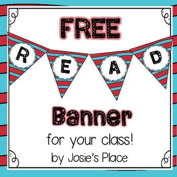 FREE Read Banner