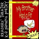 FREE Readers' Theater Onset & Rime Phonics Poem & Activities (Grades K, 1, 2)