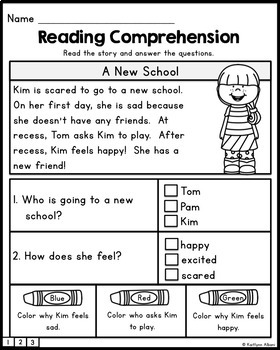 FREE - Reading Comprehension Passages