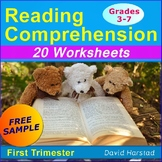 """FREE - Reading Comprehension Passages and Questions """"Pole Vault"""""""