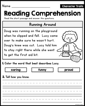 FREE Reading Comprehension Passages - Reading Strategies