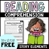 FREE Reading Comprehension Passages - Story Elements
